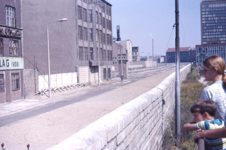 Berlin Wall and Death Strip (1971)